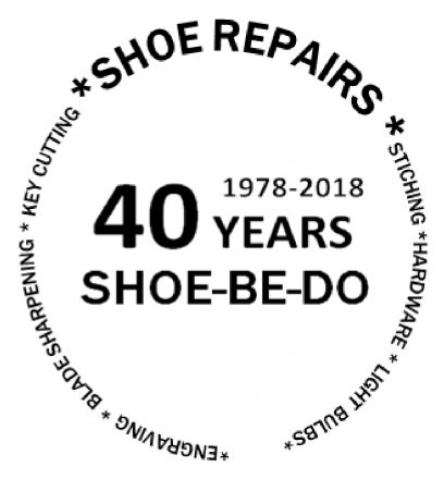 Shoe Be Do celebrating 40 Years.